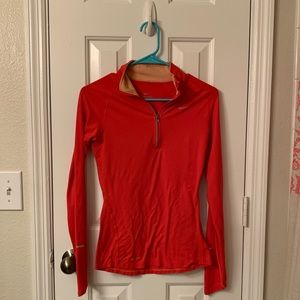 dri-fit nike woman's quarter zip